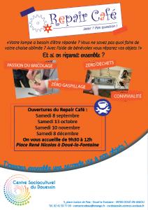 CSC Repair café @ L'annexe (bâtiment de l'AIE) | Doué-la-Fontaine | Pays de la Loire | France