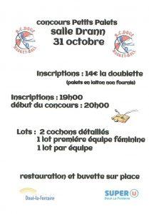 Concours de petits palets @ Salle drann | Doué-la-Fontaine | Pays de la Loire | France