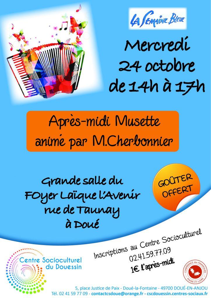 CSC : Après-midi Musette @ Foyer Laïque l'Avenir | Doué-la-Fontaine | Pays de la Loire | France
