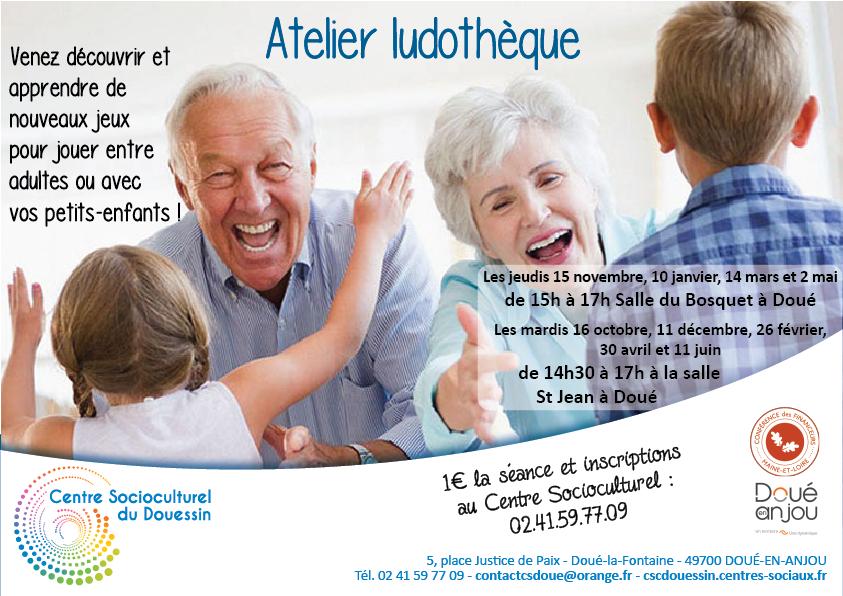 CSC : Ateliers découverte de jeux @ Salle du bosquet | Doué-la-Fontaine | Pays de la Loire | France