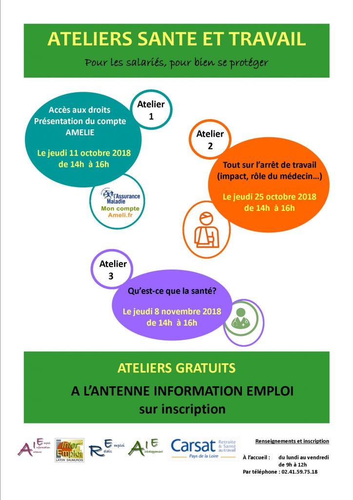 AIE : Ateliers Santé et Travail @ Antenne Information Emploi | Dunkerque | Hauts-de-France | France