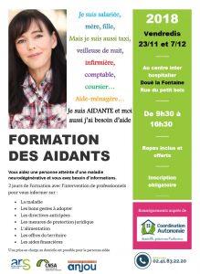 Coordination autonomie : Formation des aidants @ Centre inter hospitalier | Doué-la-Fontaine | Pays de la Loire | France