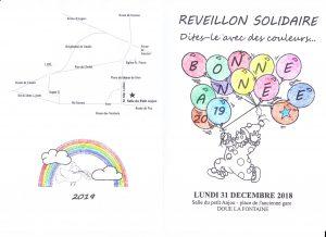 Présbytère : Réveillon solidaire @ salle du petit Anjou | Doué-la-Fontaine | Pays de la Loire | France